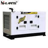 Water-Cooled 디젤 엔진 발전기 세트 침묵하는 유형 (GF2-20KW)