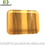 Gebildet faser-Nahrungsmitteltellersegment China-im weißen Yello Wcomposable grauen biodegradierbaren Bambus