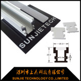 Vertiefte IP65 imprägniern LED-Aluminiumkanal für LED-Streifen mit starkem Deckel-Diffuser (Zerstäuber)
