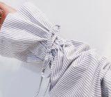 Dulce chica/mujer Manga Larga vestidos cortos