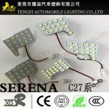 12V Xgr Raum-Licht-Lampe der Selbstauto-Innenabdeckung-Anzeigen-LED für Serie Nissan-Serena C25c26c27