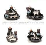 OEM-фарфоровые керамические декоративные аппаратов для предотвращения обратного потока монах благовоний горелки