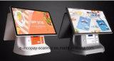 Haute qualité tout en un seul Touch Double écran tactile capacitif de caisse enregistreuse la machine pour le système POS POS/supermarché/restaurant