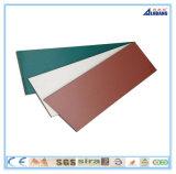 El panel compuesto de aluminio de la pintura de PPG
