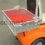 carro da companhia de eletricidade 1-Seater com uma caixa da carga