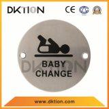DS017 원형 화장실 표시 아기 변경 표시 격판덮개