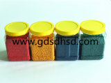 Forte concentration de couleur Masterbatch&#160 de jaune de colorant ; Granules en plastique