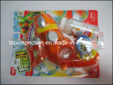 Het Kanon van het water, de Auto van het Stuk speelgoed, het Speelgoed van de Pluche, Doll van de Doek en de Inspectie van de Kwaliteitsbeheersing Van het Water Bobble