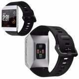 Correa de la venda de reloj del silicón de TPU para Fitbit iónico