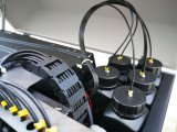 아크릴 가죽 유리제 색칠 기계 디지털 돋을새김된 UV 인쇄 인쇄 기계