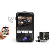 Manual de Venta caliente 1080P de 2.4 pulgadas FHD coche DVR Grabación Dual Dash cámara