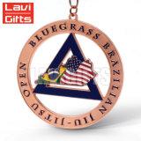 熱い販売カスタム亜鉛合金はダイカストのスポーツ賞の金属メダルロゴのクラフトを