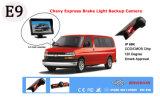 La luz de freno Car Audio copia de seguridad de la cámara de marcha atrás para el Chevy Express