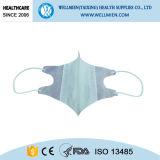 Weiße reine medizinische Earloop Basisrecheneinheits-Gesichtsmaske für Doktor