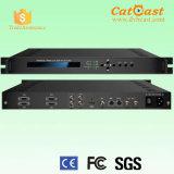 SDI、CVBS、YPbPrおよびHDMIのHPS801bのヘッドエンドのBrodcastingデジタルAC3可聴周波MPEG-2/H. 264 HDのエンコーダ、AsiおよびIP