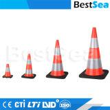 Verkehrs-Kegel der Belüftung-Plastikverkehrssicherheit-18inch