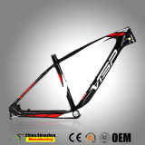 Superlight Light-Paint Mountian carbono Aluguer Frame 26,5er 27,5er