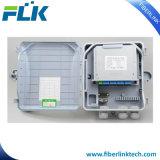 Allegato ottico fissato al muro della rete di accesso della casella di distribuzione della fibra di FTTX FTTH