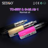 Seego 대중적인 E 담배는 E 액체를 위한 거대한 수증기를 가진 Air1 분무기 & 건전지 펜 장비를 G 명중했다