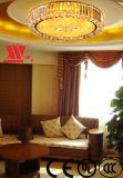 芸術ガラスの装飾が付いている天井ランプ