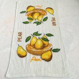 A toalha de chá de toalha de cozinha da impressão pode ser logotipo adicionado