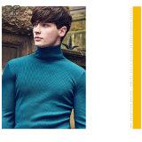 2017 longue hommes de couleur tricotés par chemise faite sur commande de chemises de col roulé tout simplement jurent la vente en gros de chemise