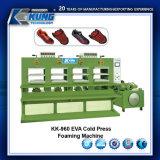 EVA-kalte Presse/schäumende Schuh-Auflage, die Maschine herstellt