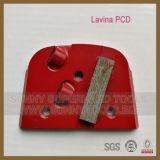 Le double segmente la plaque de meulage de diamant de Lavina pour Lavina