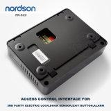 Système de contrôle d'accès d'empreinte digitale du réseau Fr-S20 avec la carte d'identification