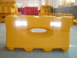 HDPE Barrera de inyección de plástico llenas de agua de la barrera de carretera