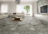 Azulejo de suelo de la porcelana del modelo del cemento del material de construcción del hexágono 260*300