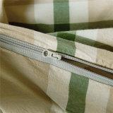寝室の綿の縞の新製品のホテルの敷布