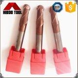 Высокое качество Длинный мяч нос режущих инструментов с Tisin покрытие для стальных
