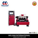 Máquina de grabado rotatoria de la carpintería del ranurador del CNC de 4 pistas (VCT-1590R-4H)