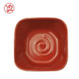 Di ceramica floreale dell'alta società come il piatto della salsa del padellame di sconto per la vendita del viale