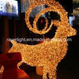 2018 Diseño de Jardín de Luz LED Iluminación decorativa parte de las luces de caballo volador