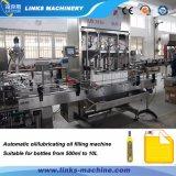 Автоматическая производственная линия масла двигателя машины заполняя