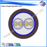 Кабель системы управления Csreen необходимый безопасный Sofy Cu Iaypvr изолированный PE обшитый PVC сплетенный проводом индивидуальный