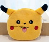 2modelos Kawaii Bola con Pikachu Don Coin Purse - Peluche 10cm Coin bolsa, bolsa de dinero en efectivo; Bolsa de bolsillo Monedero Monedero llavero