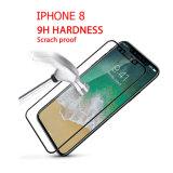 3D는 0.33mm iPhone8 7 더하기 반대로 파란 스크린 프로텍터를 위한 9h 강화 유리를 구부렸다