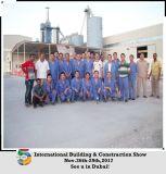 Prix de matériel de plâtre de gypse de machine de construction