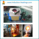 Máquina de aquecimento por indução de freqüência média de forno de fundição