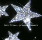 Toebehoren van de Auto van de Sticker van de Auto van het Kristal van de Ster van de Sticker van het kristal de Zelfklevende Tsjechische 3D (tP-Ster)