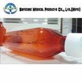 Botella oval líquida de los casquillos resistentes plásticos del niño
