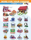 Schlag-Haus Schloss des aufblasbaren Weihnachtsgroßhandelshäuschens springendes für Ereignis