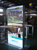 Lightbox che fa pubblicità alla visualizzazione che fa pubblicità al contenitore chiaro di strumentazione LED