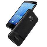 Lederne Telefon-Kästen des rückseitigen Deckel-TPU für HTC U11 das Leben