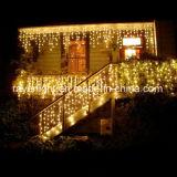 Pas Decoratie van Kerstmis van het Decoratieve LEIDENE Koord van de Ijskegel de Lichte aan
