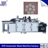 Silbrige Aluminiumlegierung-runde Baumwolwegwerfauflage, die Maschine herstellt