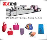5-in-1 de niet Geweven Zak die van de Doos Machine maken (zxl-E700)